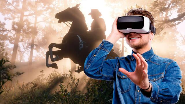 Red Dead Redemption 2 ya es jugable en realidad virtual con un mod