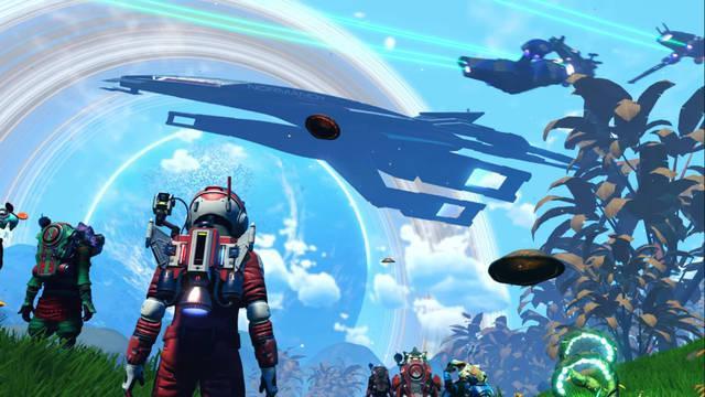 No Man's Sky recibe la nave Normandy de Mass Effect para celebrar la Legendary Edition.