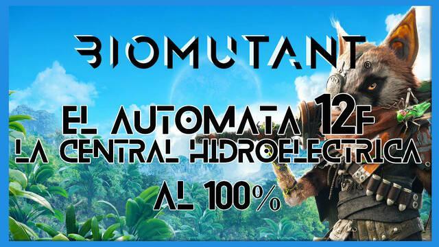 Biomutant: El autómata 12F / La central hidroeléctrica - Cómo completarla