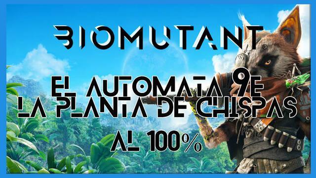 Biomutant: El autómata 9E / La planta de chispas - Cómo completarla