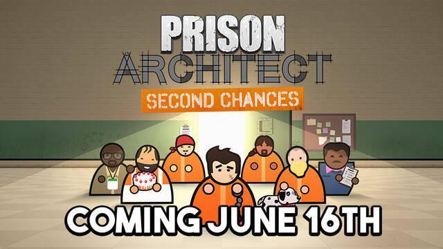 Prison Architect: Second Chances se lanzará en junio