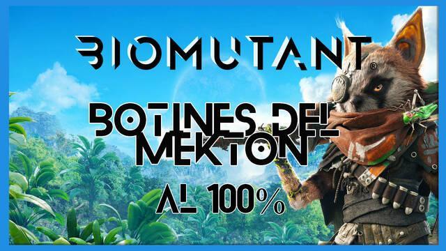 Biomutant: Piezas del mekton - Cómo completarla