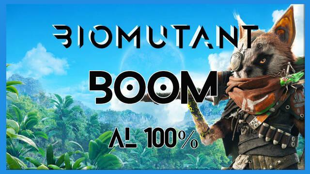 Biomutant: Boom - Cómo completarla