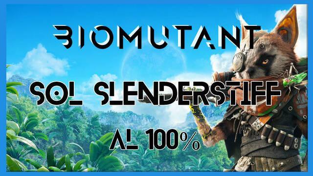 Biomutant: Sol Slendesrtiff - Cómo completarla