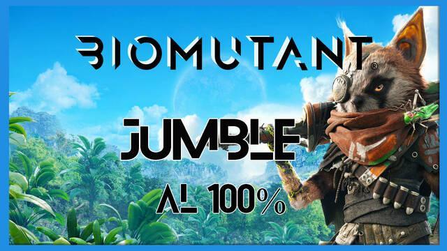 Biomutant: Jumble - Cómo completarla
