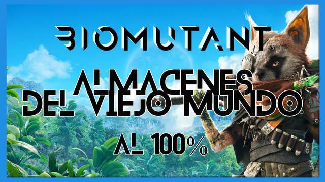 Biomutant: Almacenes del Viejo Mundo - Cómo completarla