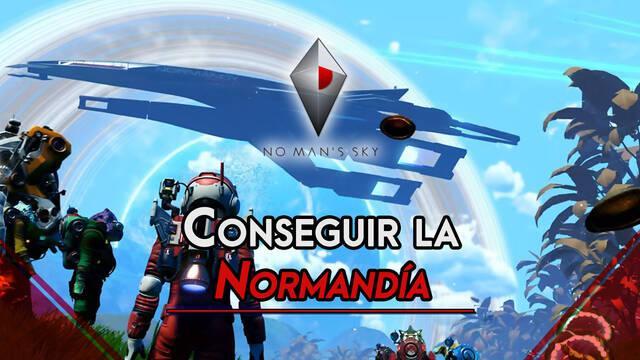 No Man's Sky: Cómo conseguir la nave Normandía de Mass Effect Legendary Edition