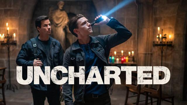 La película de Uncharted se muestra en una nueva imagen.