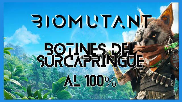 Biomutant: Botines del surcapringue - Cómo completarla