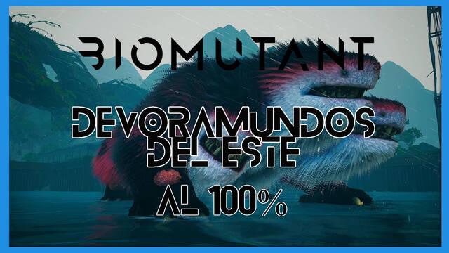 El Devoramundos del este en Biomutant al 100%: walkthrough y consejos