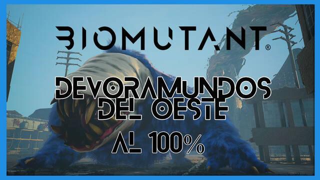 El Devoramundos del oeste en Biomutant al 100%: walkthrough y consejos