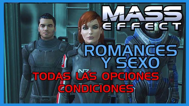 Mass Effect: TODOS los romances y sexo
