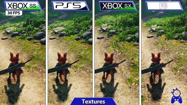 Así se ve Biomutant en una comparativa entre PS5, Xbox Series X/S y PC