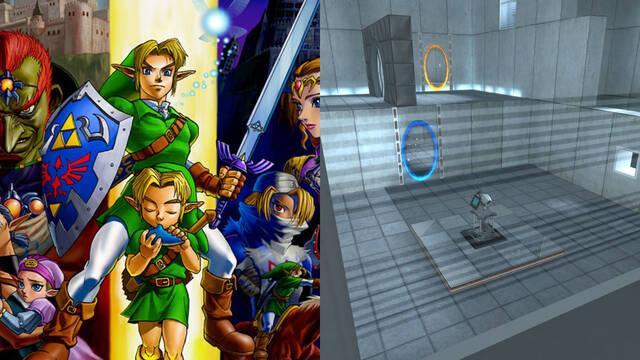 The Legend of Zelda Ocarina of Time portales Portal