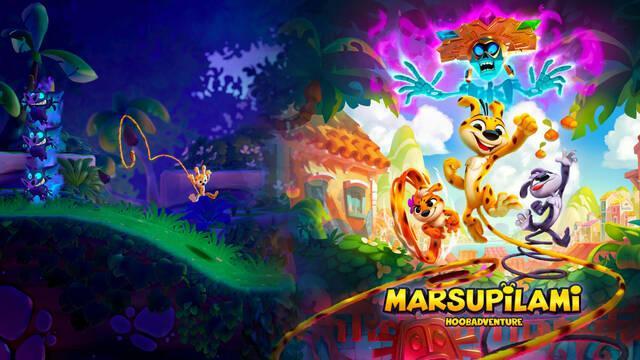 Marsupilami: Hoobadventure llegará el 16 noviembre a PS4, Xbox One, Switch y PC.