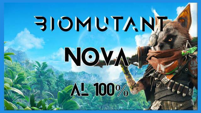 Biomutant: Nova - Cómo completarla