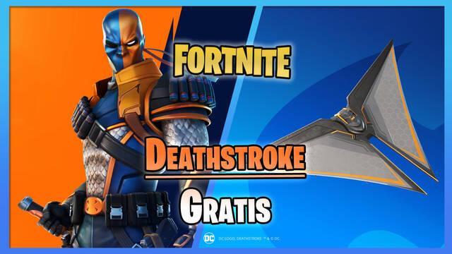 Fortnite: Cómo conseguir gratis la skin de Deathstroke cero; fechas y detalles