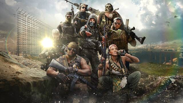 Call of Duty Warzone y los destellos