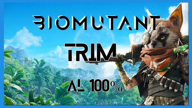 Biomutant: Trim - Cómo completarla