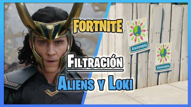 Fortnite: La Temporada 7 incluirá alienígenas y a Loki, según filtraciones