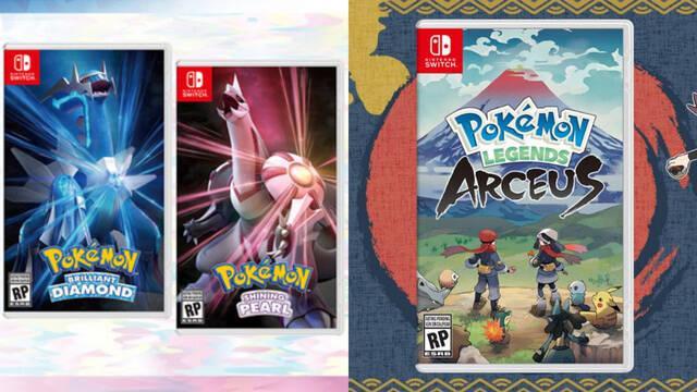 Pokémon remakes Sinnoh Perla Diamante Leyendas Pokémon Arceus fecha de lanzamiento