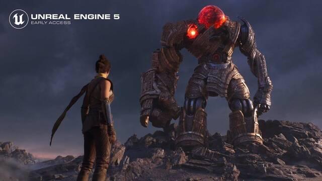 Unreal Engine 5 no llegará hasta el 2022