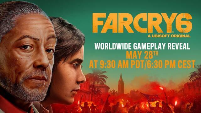Far Cry 6 mostrará su jugabilidad por primera vez el 28 de mayo.