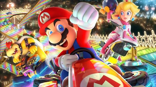 Mario Kart 8 Deluxe recibe para Nintendo Switch una nueva actualización