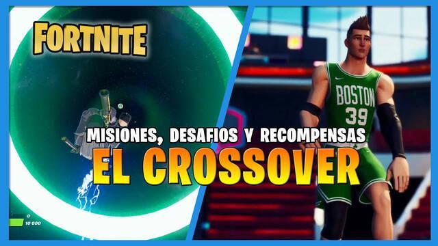 Fortnite: El crossover con la NBA - Misiones, soluciones y recompensas