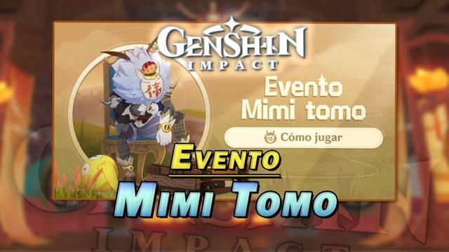Genshin Impact: Gana Protogemas y decoraciones en el evento Mimi tomo