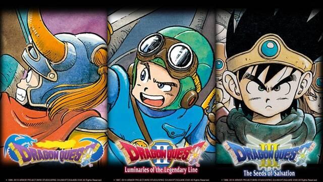 La trilogía Dragon Quest pero en HD-2D