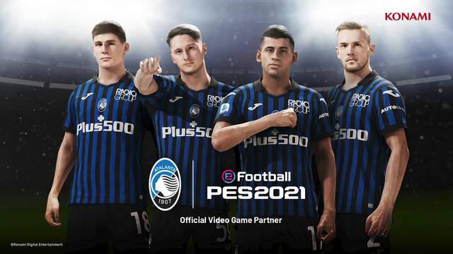eFootball PES consigue otro equipo en exclusiva: Atalanta, el cuarto equipo italiano