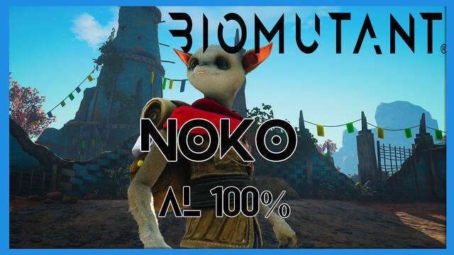 Noko en Biomutant al 100%: walkthrough y consejos