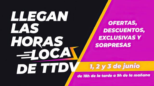 TTDV da inicio a Las horas locas, con ofertas los días 1, 2 y 3 de junio