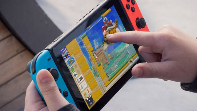 Switch Pro detalles exclusivos