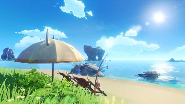 Genshin Impact recibirá '¡Verano, islas, aventuras!', su versión 1.6, el próximo 9 de junio.