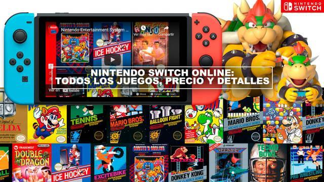 Nintendo Switch Online: Listado de juegos de NES y SNES, precio y detalles