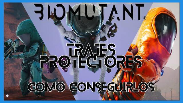 Biomutant: TODOS los trajes de protección y cómo conseguirlos