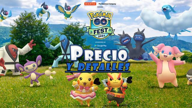 Pokémon GO Fest 2021: Precio de la entrada, detalles y características del evento