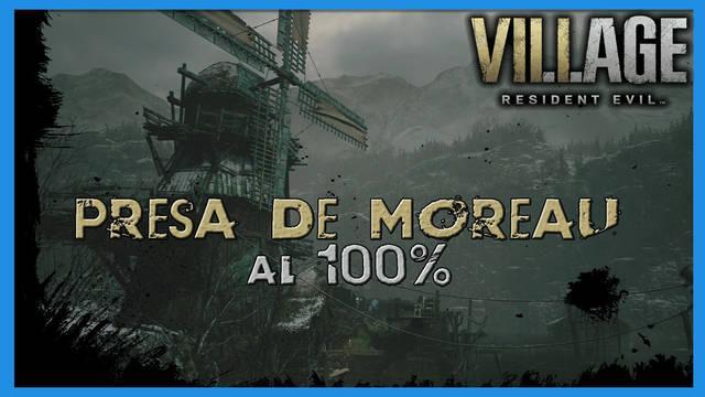 Resident Evil 8 Village: Presa de Moreau al 100%