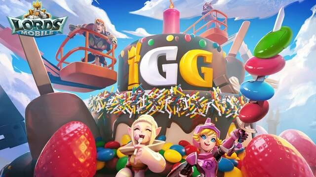 Lords Mobile aniversario IGG