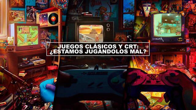 Juegos clásicos y CRT: ¿estamos jugándolos mal?