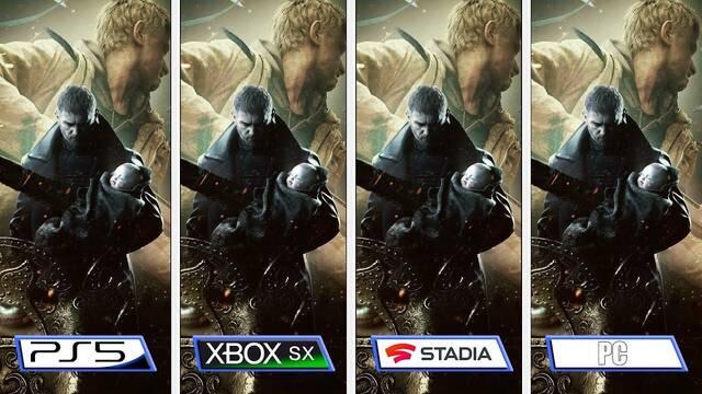 Comparativa Resident Evil 8 PC, PS5, XSX, Stadia