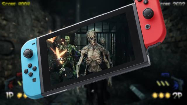 Nuevos detalles de The House of the Dead: Remake en Switch.