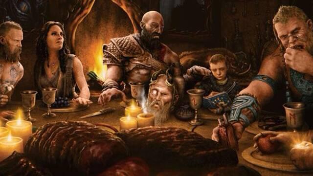 God of War Ragnarok nueva ilustración Cory Barlog
