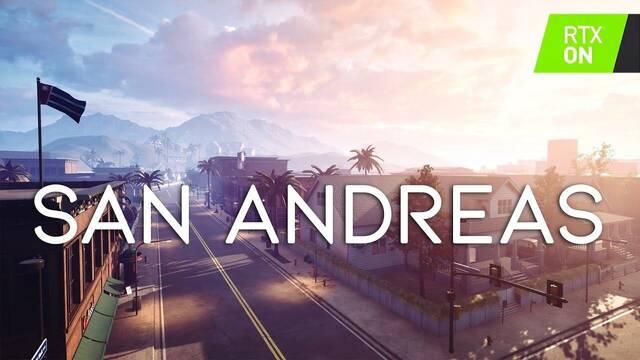 Recrean la intro de GTA San Andreas con Unreal Engine 4