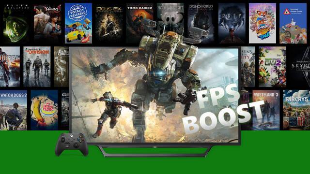 Más de 70 nuevos juegos reciben compatibilidad con FPS Boost en Xbox Series X/S.