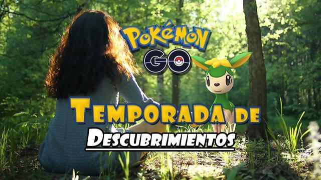 Pokémon GO presenta la Temporada de Descubrimientos: fechas, detalles y novedades