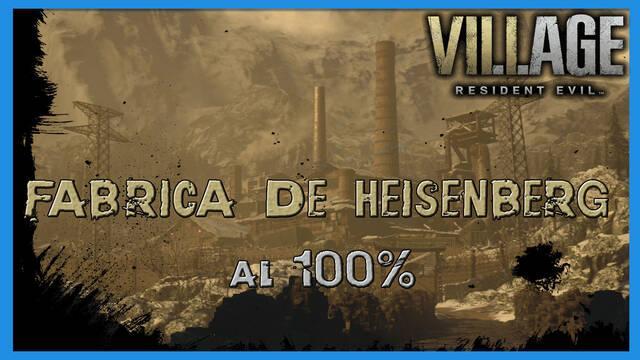 Resident Evil 8 Village: Fábrica de Heisenberg al 100%