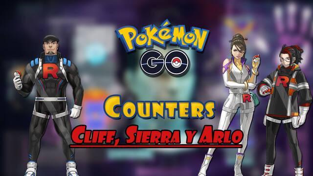 Pokémon GO: Cómo vencer a Cliff, Sierra y Arlo - Mejores counters (mayo 2021)